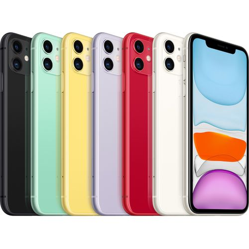 Celular Aplle iPhone 11 64GB 36MP 6.1'' preto