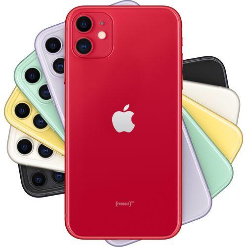 CELULAR IPHONE 11 64GB  36MP  6.1'' VERMELHO