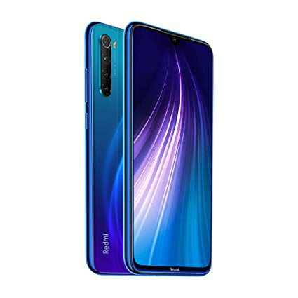 CELULAR XIAOMI REDMI NOTE 8 64GB 48MP 6.3''  AZUL