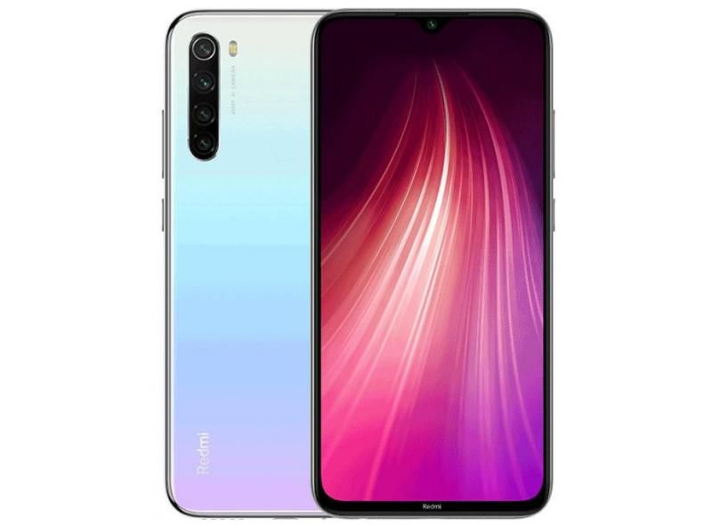 Celular Xiaomi Redmi Note 8 128GB branco