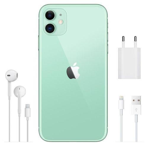 Celular Aplle iPhone 11 64GB  36MP 6.1'' verde claro