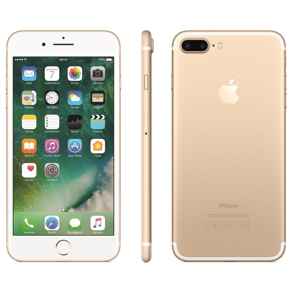 CELULAR IPHONE 7 PLUS 24MP 32GB 5.5'' DOURADO