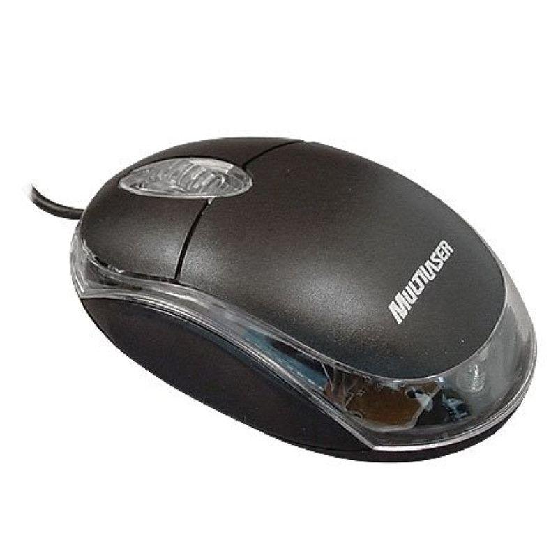 Mouse Óptico Multilaser com Fio MO179