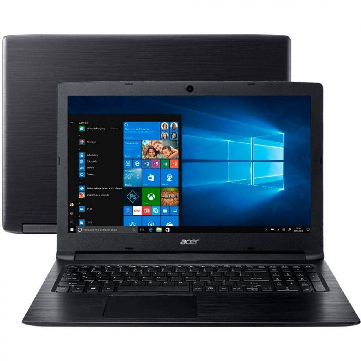 NOTEBOOK ACER A315-33-C DUAL CORE N3060 4gb 500gb