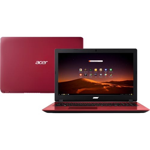 Notebook Acer Aspire 33AD core I3 8GB 1TB SSD 256GB 15,6''