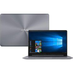 NOTEBOOK ASUS VIVOBOOK X510UA-BR665T. CORE I5 8GB HD1TB SSD256GB 15,6'' WINDOWS 10 HOME 64BITS