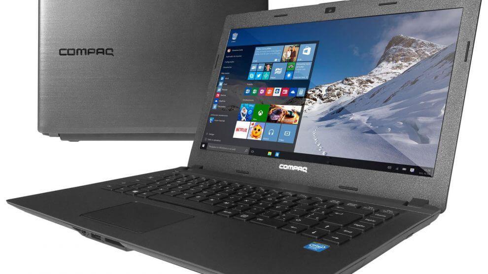 Notebook HP compaq CQ23 dual core 4 GB HD500GB 14'' Windows