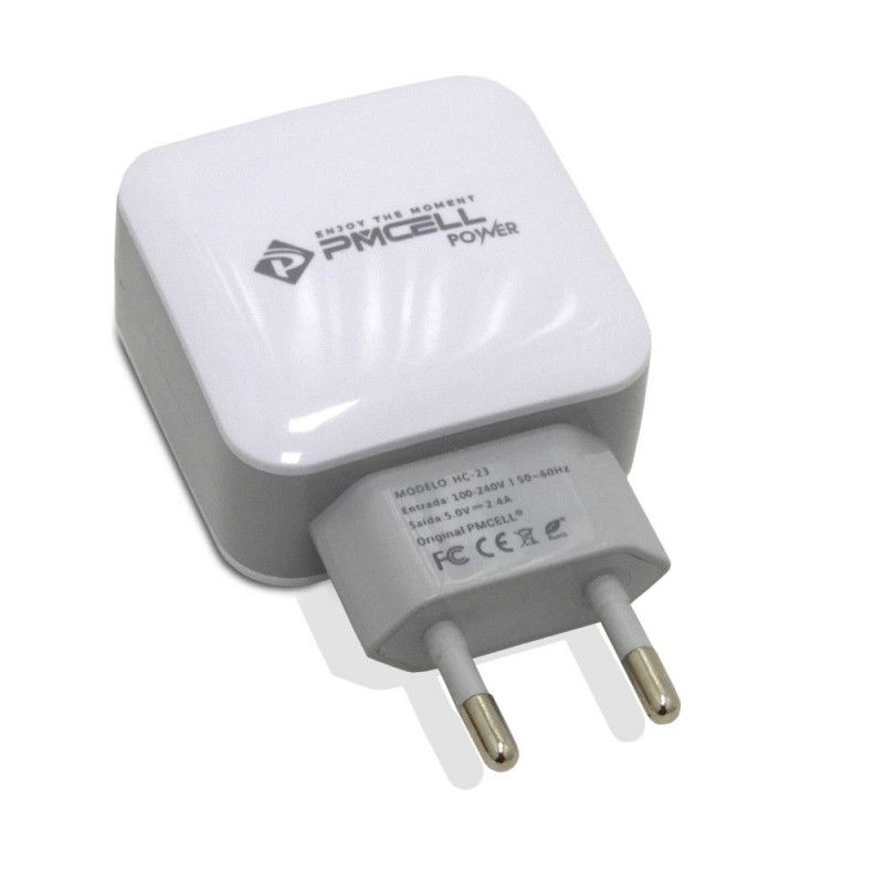 PMCELL- 110-220v / 50~60Hz Saída: 5V - 2.4A