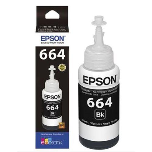 Refil de Tinta Epson 664 Preto