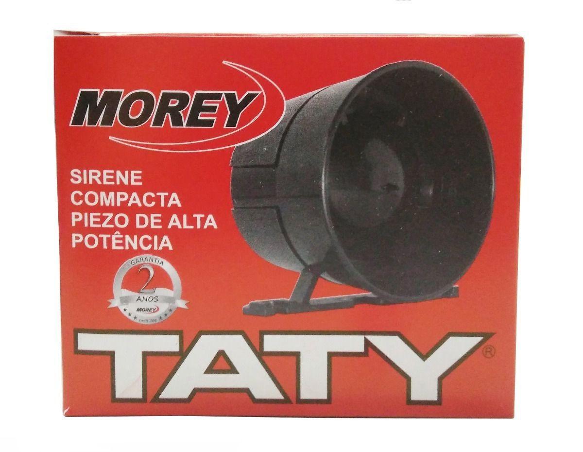 sirene piezoelétrica TATY de alta potencia !