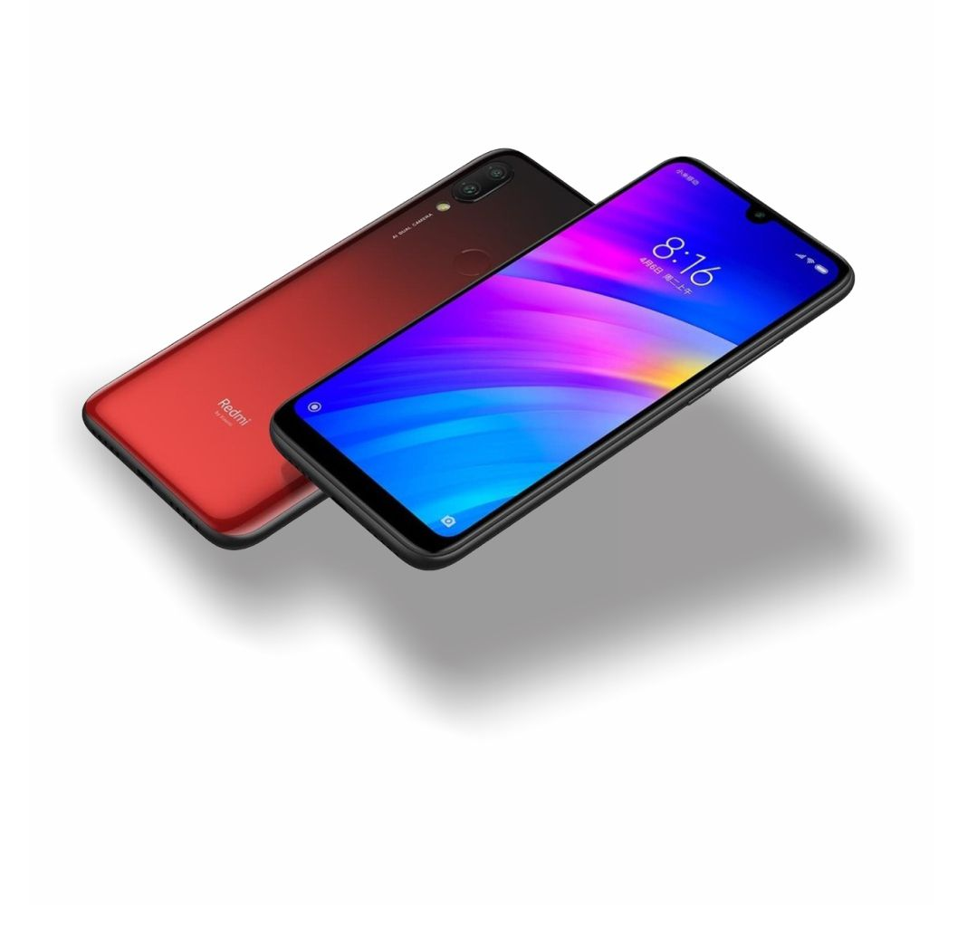 "CELULAR XIAOMI REDMI 7 32GB 12MP 6,2"" LUNAR RED"