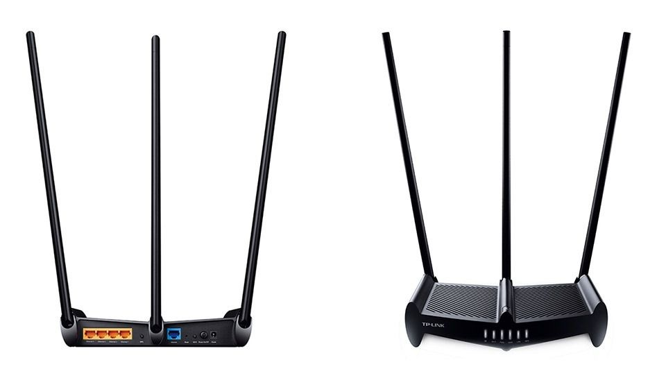 Roteador Wireless 450Mbps High Power 9dBi 3 Antenas Tp-Link TL-WR941HP