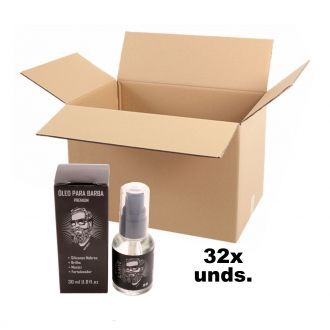 32 unid. Óleo Premium para Barba - Beard Oil - Limye Brasil