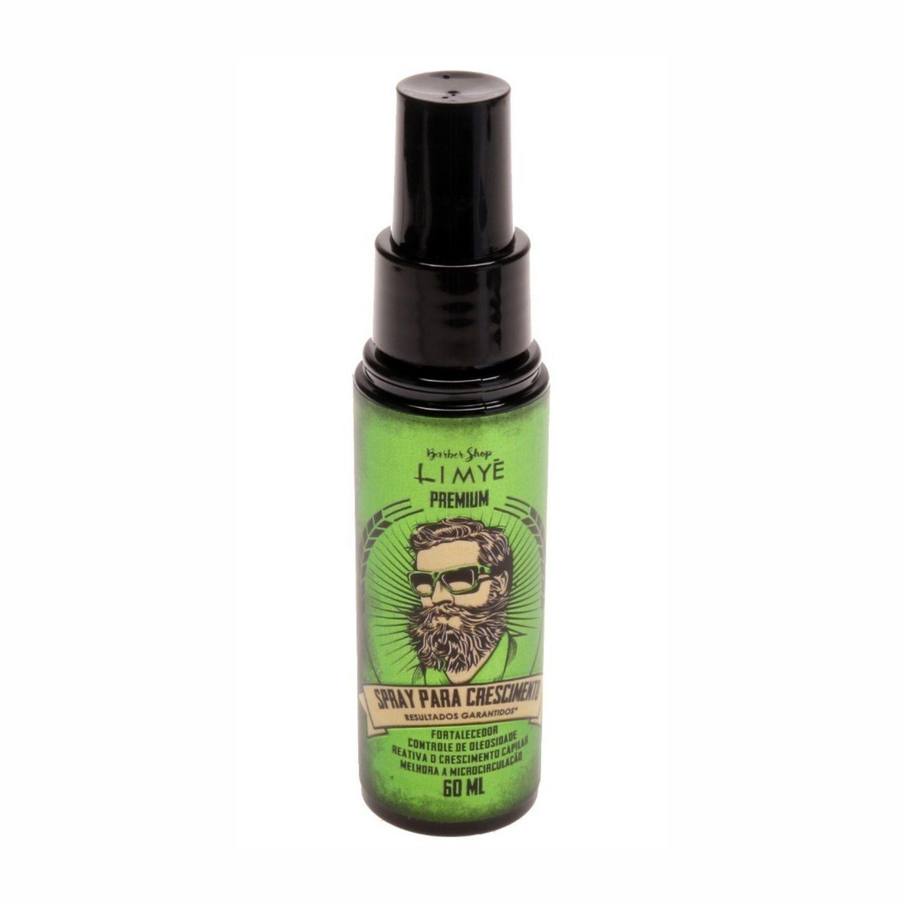 Spray para Crescimento Premium 60ml Limye Brasil