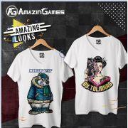 Camisetas de Poliéster - Personalização Tamanho A3