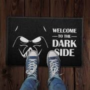 Capacho 60x40cm Welcome to the Dark Side