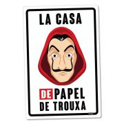 Placa Decorativa La Casa De Papel De Trouxa