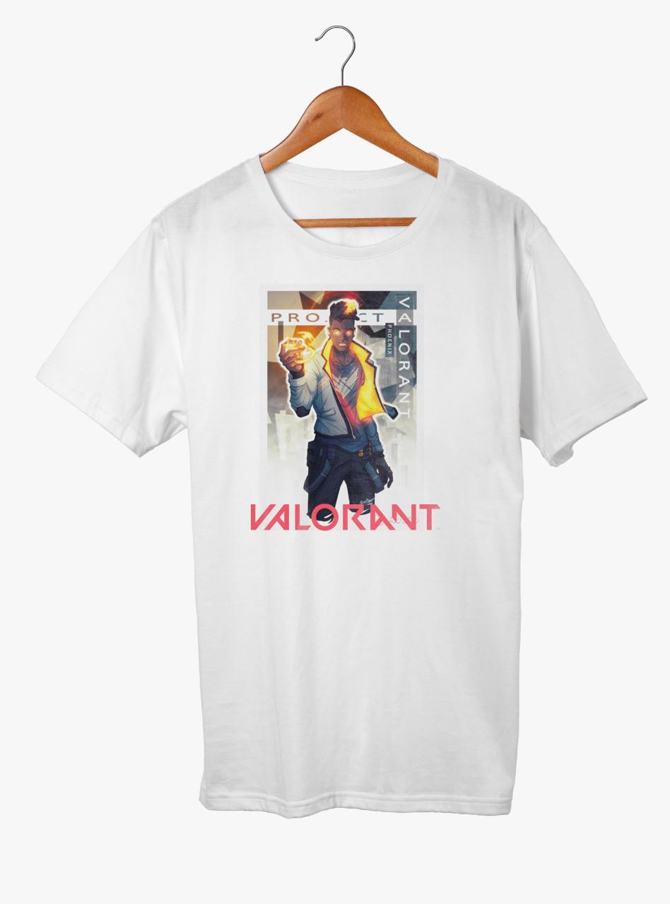 Camiseta de Poliéster - Personalização Tamanho A4