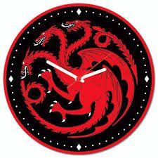 Relógio de Parede Casa Targaryen