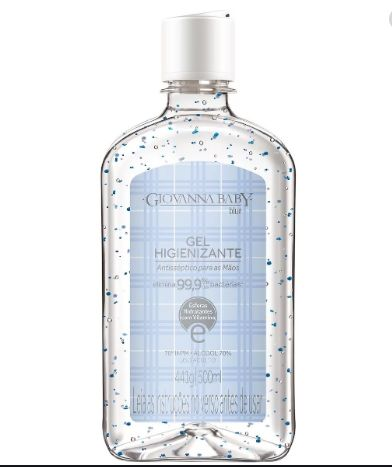 Álcool Gel Blue 500ml - Giovanna Baby