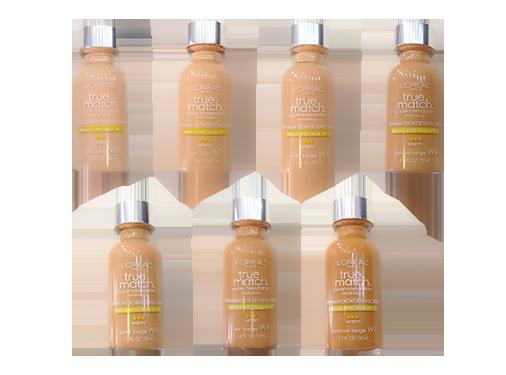 Base True Match Broad Spectrum SPF 17 - L'Oréal