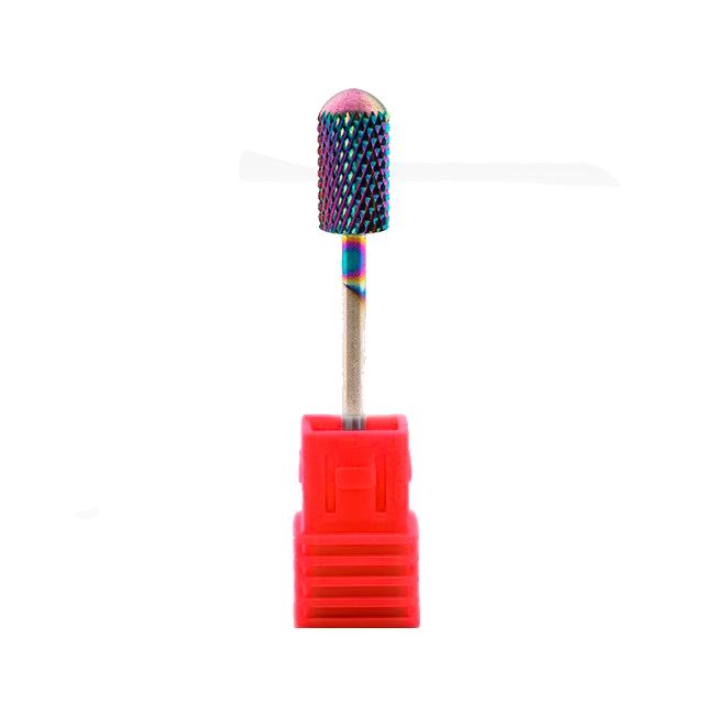Broca de Tungstênio para Lixa Elétrica Colorfull Large Barrel (Vermelho)