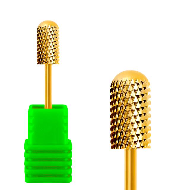 Broca de Tungstênio para Lixa Elétrica Gold Barrel Ball (Verde)