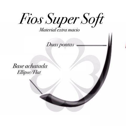 Cílios 0.20 Fio a Fio Super Soft (Elipse) - Rastelli