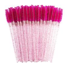 Escovinha Descartável com Glitter para Cílios e Sobrancelhas