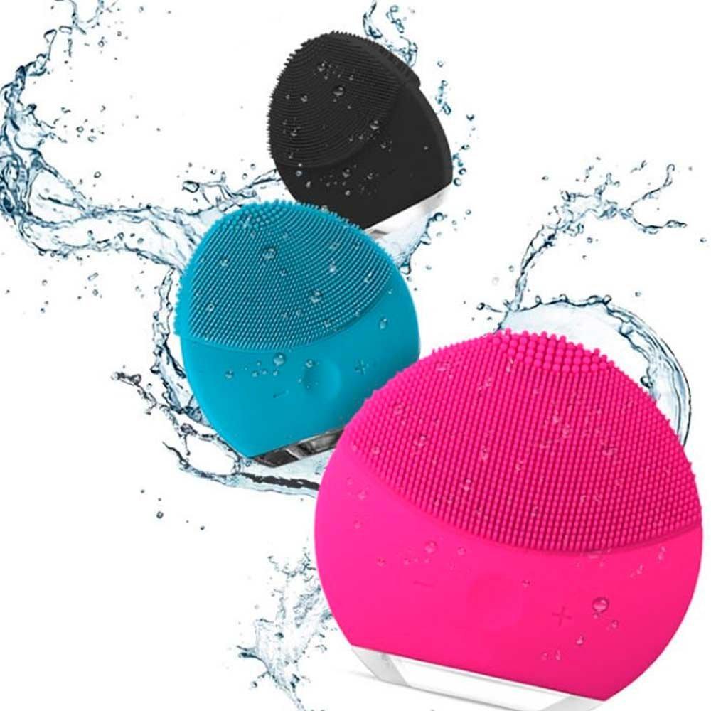 Esponja Elétrica Massageadora de Limpeza Facial - Forever