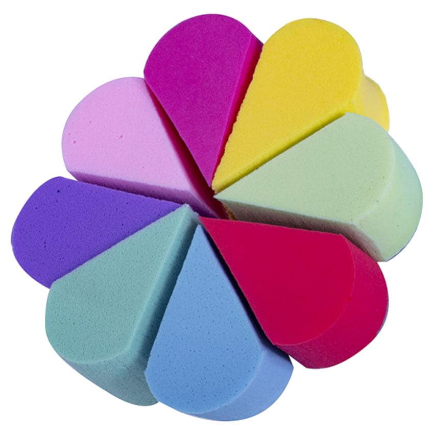 Esponja Triangular Queijinho em formato de Flor - Sffumato