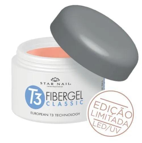 Gel para Alongamento das Unhas Fibergel Classic European T3 Technology - Star Nail