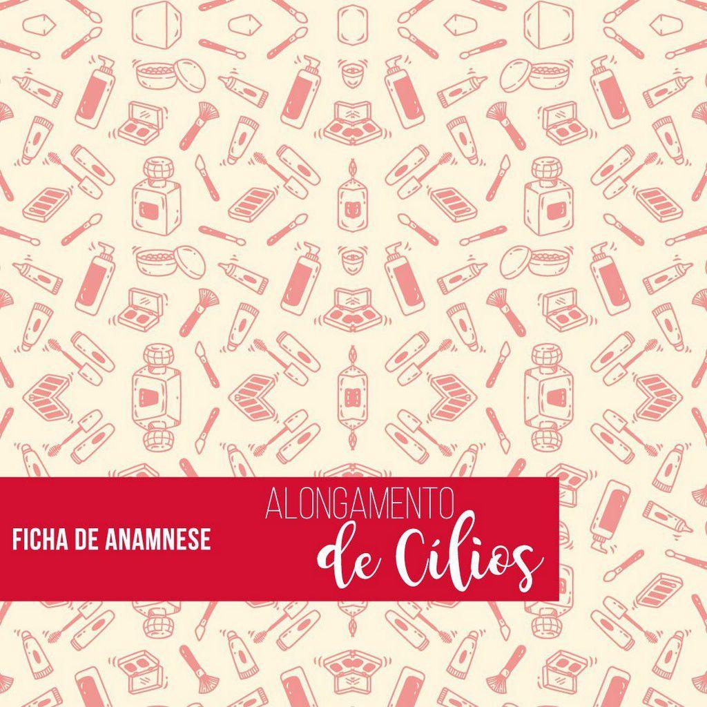 Ficha de Anamnese para Extensão de Cílios