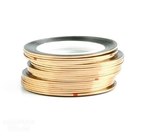 Fio Dourado Metálico para Unhas