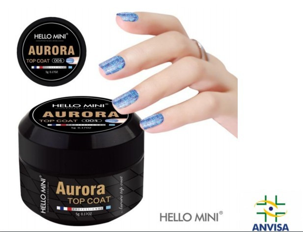 Gel Aurora Top Coat 004 - Hello Mini