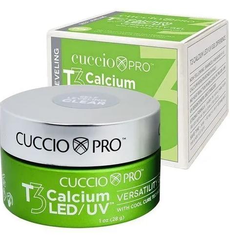 Gel Para Alongamento das Unhas T3 Self Leveling Led/Uv Calcium 28g - Cuccio Pro