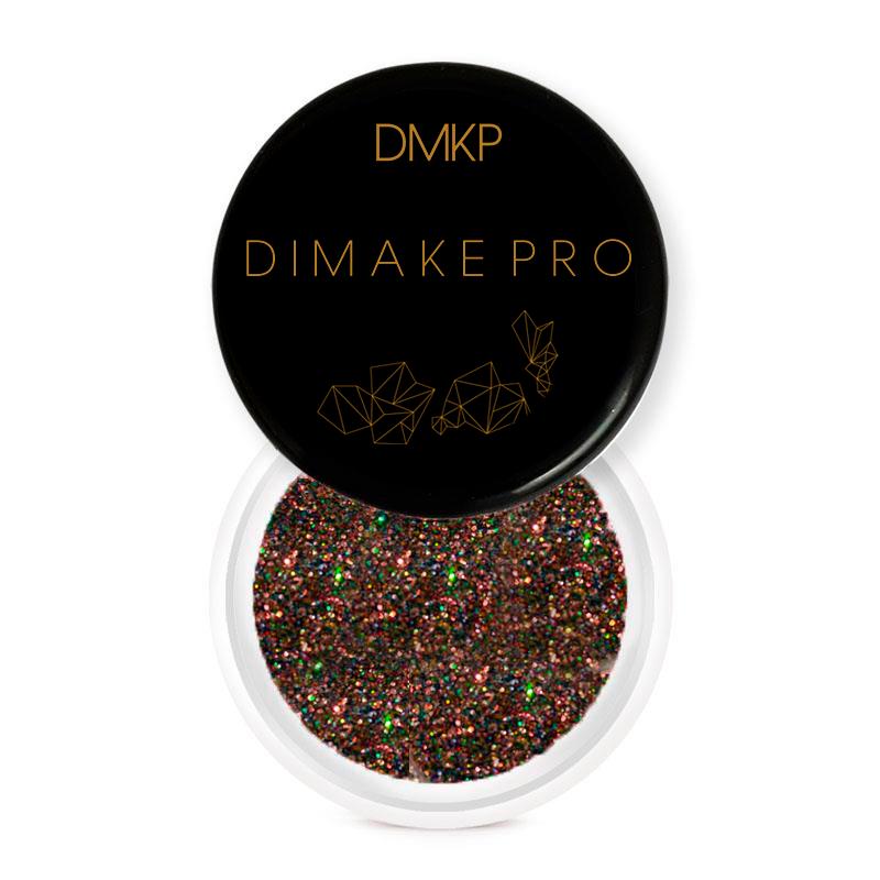 Glitter Duocromático Marrom Gaia - Dimake Pro