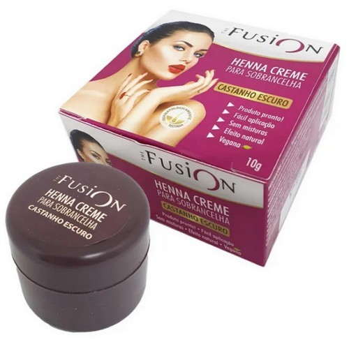 Henna Creme para Sobrancelha - Fusion