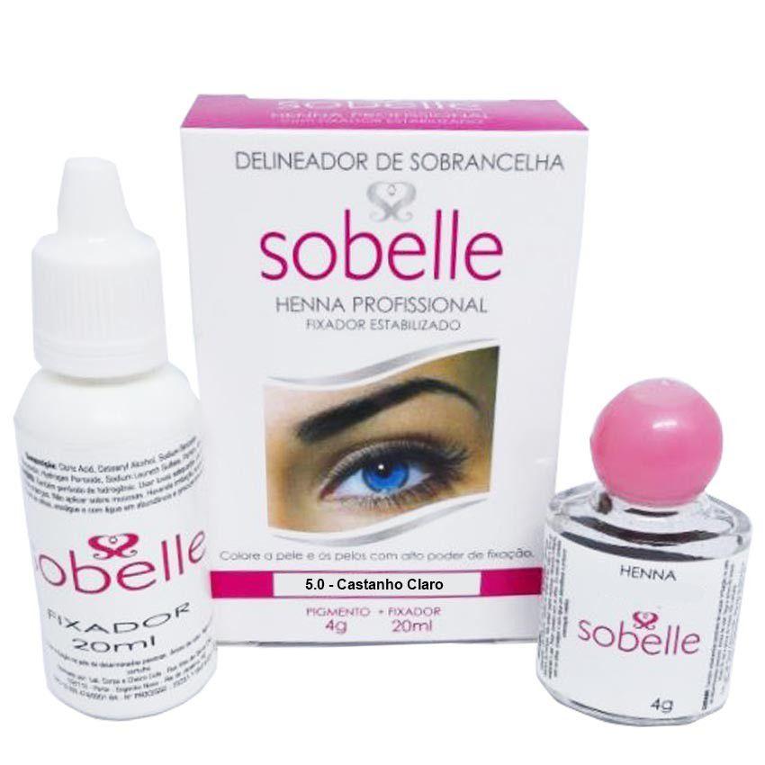 Henna para Sobrancelhas - Sobelle