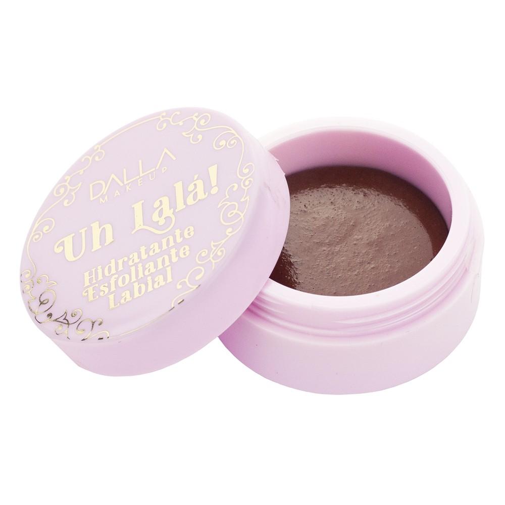 Hidratante e Esfoliante Labial Uh La la Chocolate - Dalla Makeup