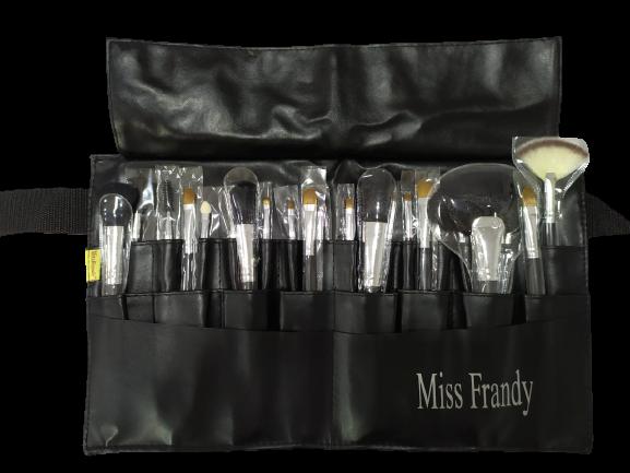 Kit 22 Pinceis com Cinto - Miss Frandy