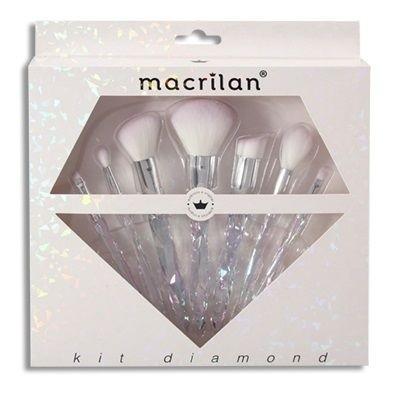 Kit de 7 Pincéis Diamond - Macrilan