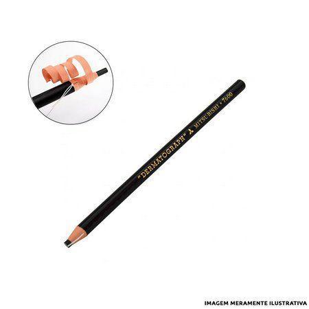 Lápis Dermatográfico Preto - MITSU-BISHI