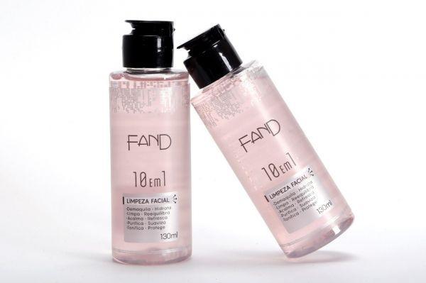 Limpeza Facial 10 em 1 - Fand Makeup