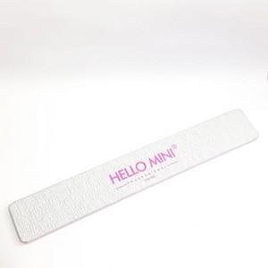 Lixa Reta 100/180 Unha Porcelana Acrygel Fibra - Hello Mini