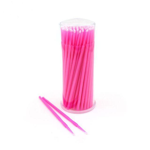 Microbrush 100 Unidades com Case