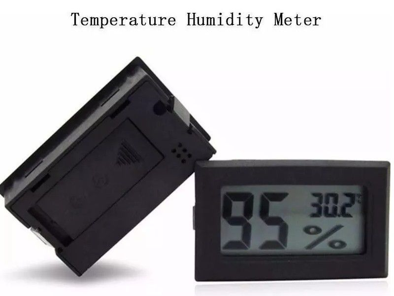 Higrômetro Mini Medidor de Umidade