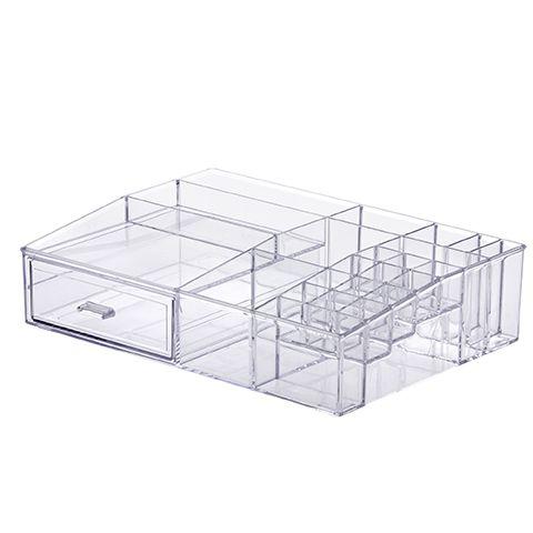 Organizador com Gavetas e Divisórias 33x25x8,5 cm 1123 - ELEGANCE