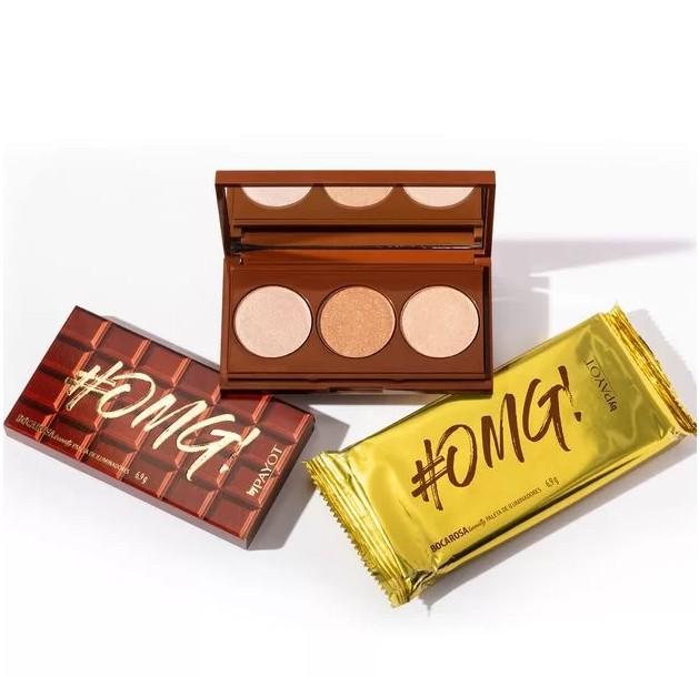 Paleta de Iluminadores #OMG Chocolate - Boca Rosa