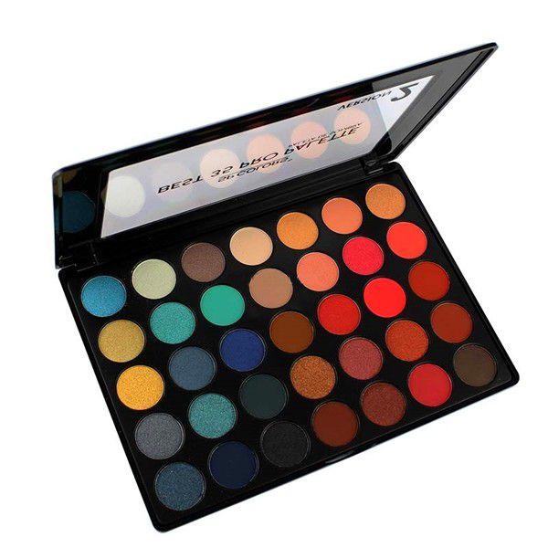 Paleta de Sombras 35 Cores Versão 2 - SP Colors